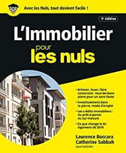 «L'Immobilier pour les Nuls» de Catherine Sabbah et Laurence de Boccara